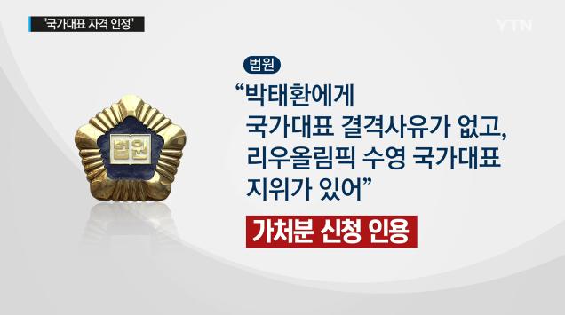 박태환 법원 판결