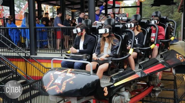 롤러코스터와 VR