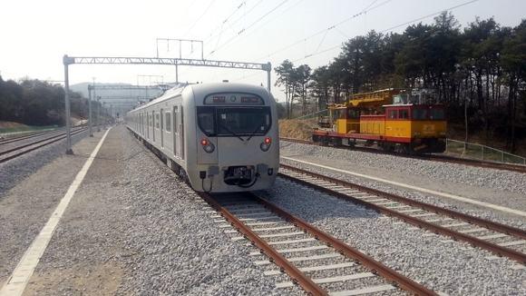 성남 여주 복선전철 임시운행