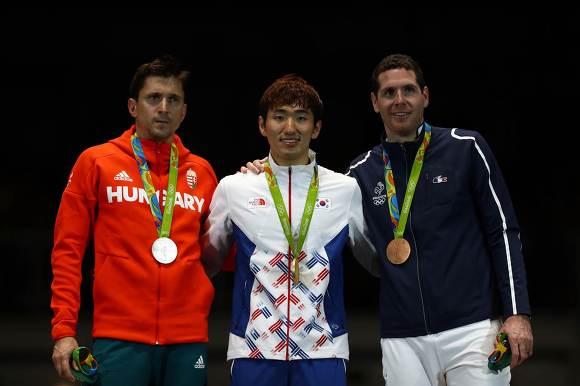 펜싱 에페 금메달 박상영