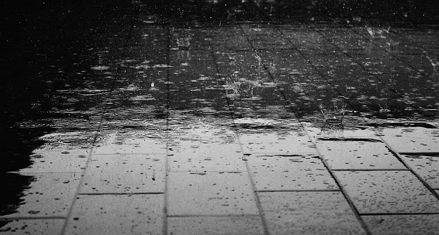 전국이 흐리고 비