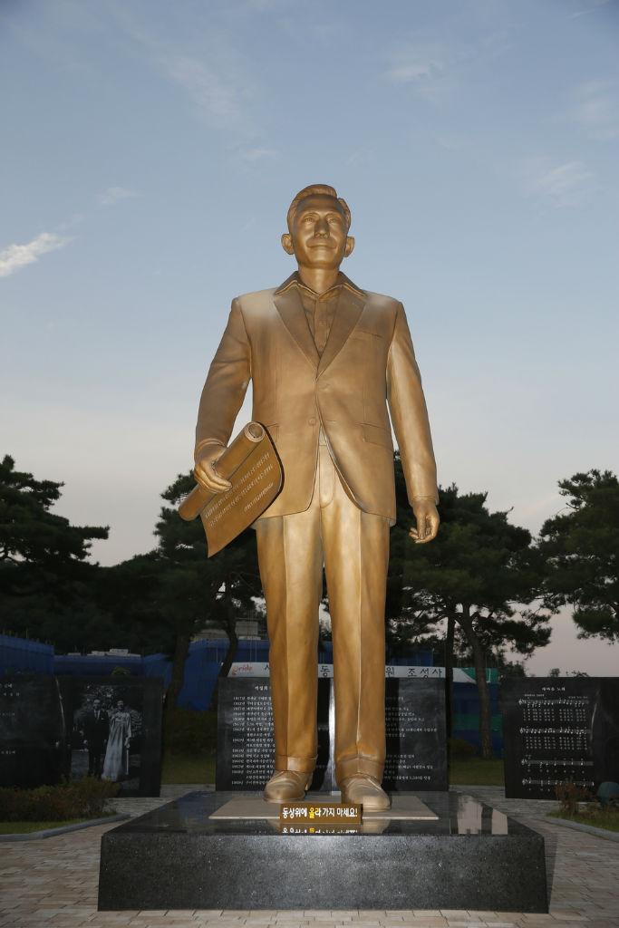 박정희 동상