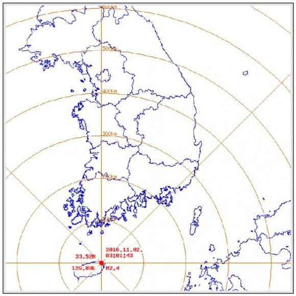제주서 규모 2.4 지진 발생.jpg