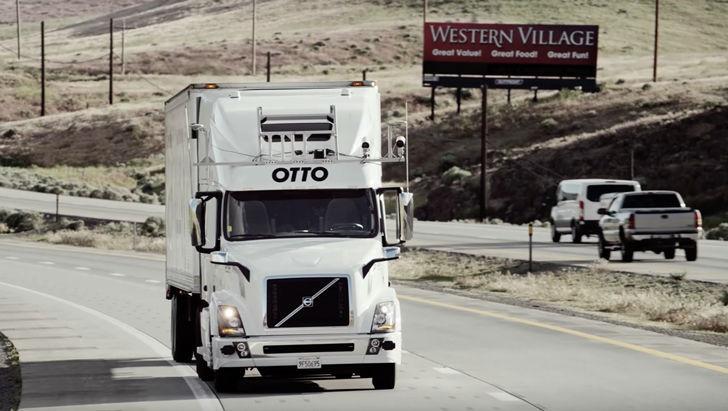OTTO의 자율주행 트럭