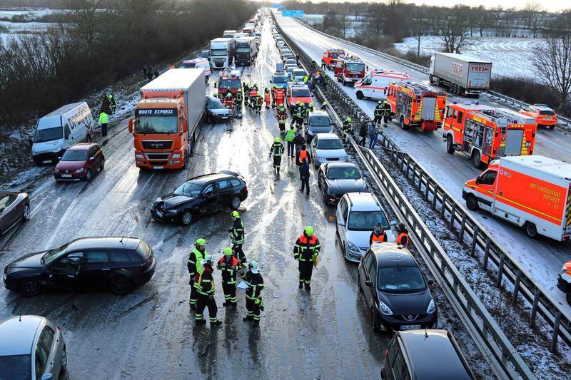 아우토반 교통사고